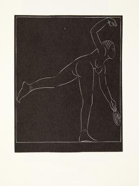 The Tennis Player, 1923 by Eric Gill