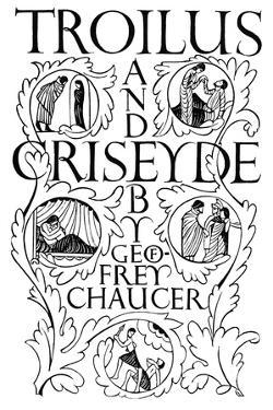 Title Page: Troilus and Criseyde, 1927 by Eric Gill