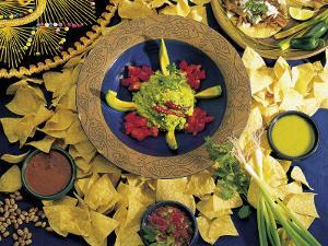 Nachos with Guacamole by Eric Horan