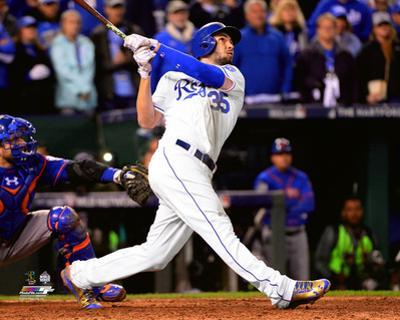 Eric Hosmer Game winning sacrifice fly Game 1 of the 2015 World Series