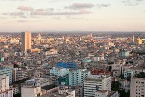 An Aerial View of Downtown Havana by Eric Kruszewski