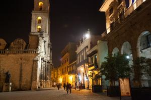 In Havana's Plaza De San Francisco by Eric Kruszewski