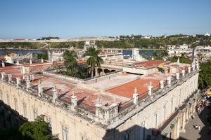 The Architecture and Buildings of Downtown Havana are Visible from This Elevated View by Eric Kruszewski