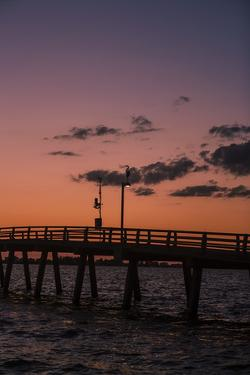 Long Fishing Pier, Florida by Eric R. Hinson
