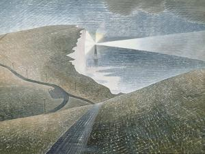 Beachy Head, 1939 by Eric Ravilious