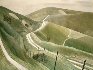 Chalk Paths by Eric Ravilious
