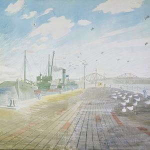 Channel Fisher (Firth of Forth), 1940-42 by Eric Ravilious