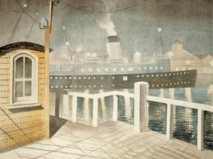 Channel Steamer by Eric Ravilious