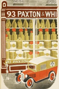 Cheesemonger by Eric Ravilious