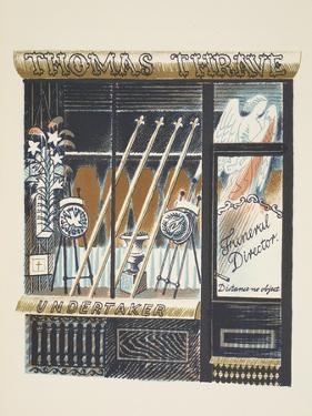 Funeral Director by Eric Ravilious