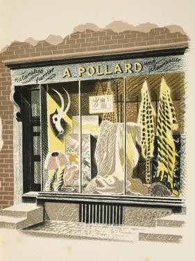 Furrier by Eric Ravilious