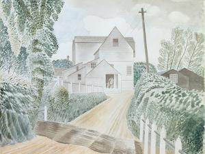 Hull's Mill, Sible Hedingham, Essex, 1935 by Eric Ravilious