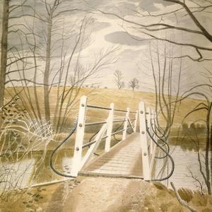 Ironbridge at Ewenbridge by Eric Ravilious