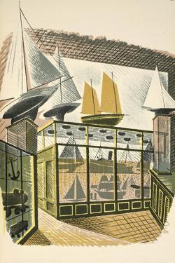 Model Ships and Trains by Eric Ravilious