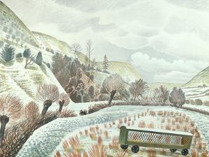 New Year Snow, 1935 by Eric Ravilious