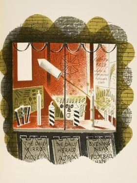 Newsagents by Eric Ravilious