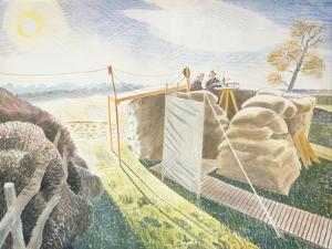 Observer's Post, C.1940-42 by Eric Ravilious