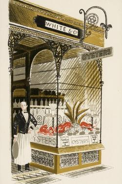 Oyster Bar, C.1938 by Eric Ravilious