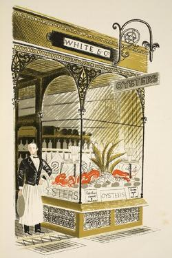 Oyster Bar by Eric Ravilious