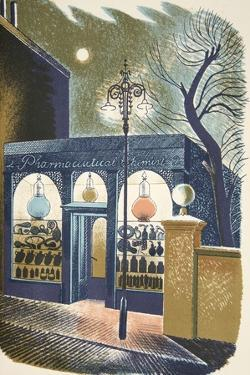 Pharmacy by Eric Ravilious