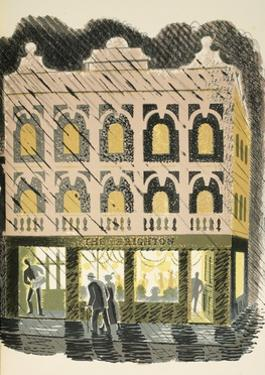 Public House by Eric Ravilious