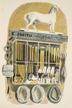 Saddler and Harness Maker by Eric Ravilious