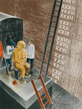 The Diver, 1941 by Eric Ravilious