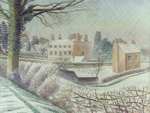 Vicarage in the Snow by Eric Ravilious