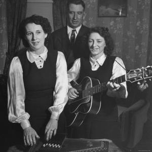 Considered the Father of Country Western Music A. P. Carter Singing with Wife Sara by Eric Schaal