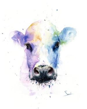 Abstract Cow by Eric Sweet