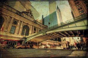 Chrysler Over Grand Central by Eric Wood