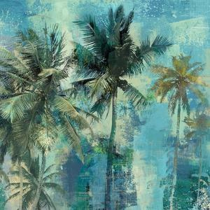 Teal Palms by Eric Yang