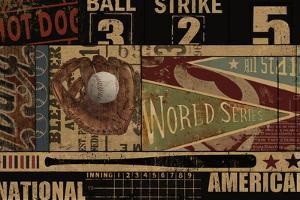 Vintage Ball Park by Eric Yang