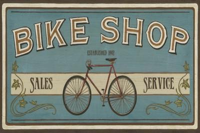 Bike Shop I by Erica J. Vess