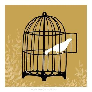 Birdcage Silhouette II by Erica J. Vess