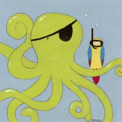 Captain Calamari by Erica J. Vess