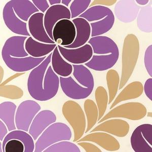 Fuchsia Floral II by Erica J. Vess