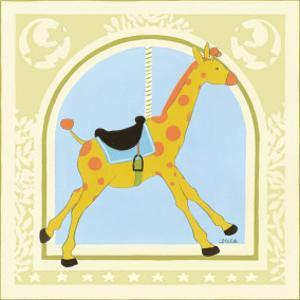 Giraffe Carousel by Erica J. Vess