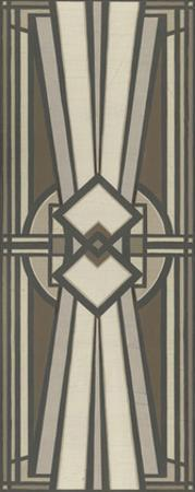 Neutral Deco Panel I by Erica J. Vess