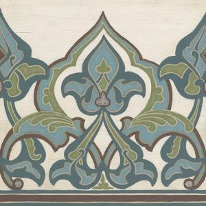 Non-Embellished Persian Frieze I by Erica J. Vess