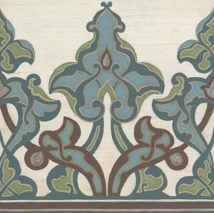 Non-Embellished Persian Frieze II by Erica J. Vess