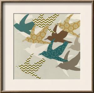Patterned Flock II by Erica J. Vess