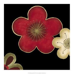 Pop Blossoms in Red II by Erica J. Vess