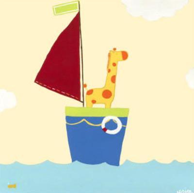 Sailboat Adventure I by Erica J. Vess
