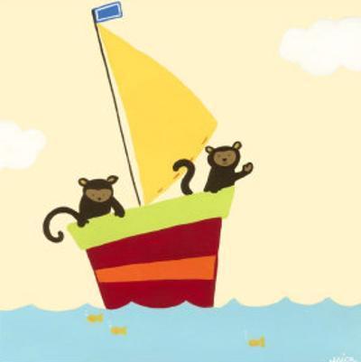 Sailboat Adventure III by Erica J. Vess
