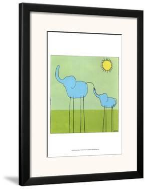 Stick-leg Elephant II by Erica J. Vess