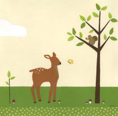 Woodland Friends I by Erica J. Vess