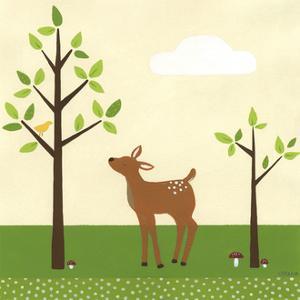 Woodland Friends II by Erica J. Vess