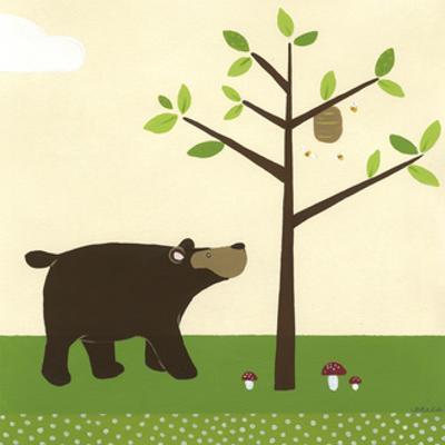 Woodland Friends III by Erica J. Vess