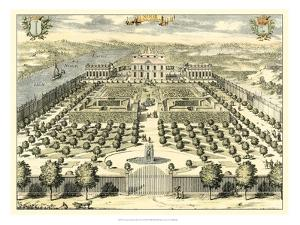 Formal Garden View II by Erich Dahlbergh